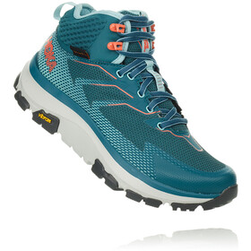 Hoka One One Sky Toa Hiking Shoes Women dragonfly/aqua haze